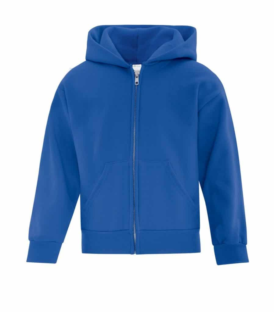 WTSMATCY2600Y - Royal - WorkwearToronto.com - Kids Hooded Sweatshirt