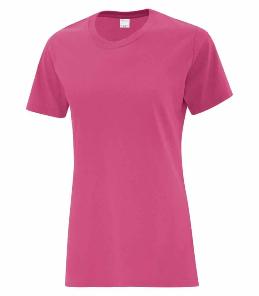 WTSMBATC1000L-W - Sangria - WorkwearToronto.com - Ladies' T-Shirts - Custom T Shirts Cost