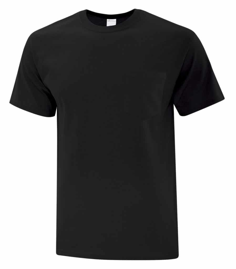 WTSMBATC1000P - Black - WorkwearToronto.com - Men's Pocket T-Shirt