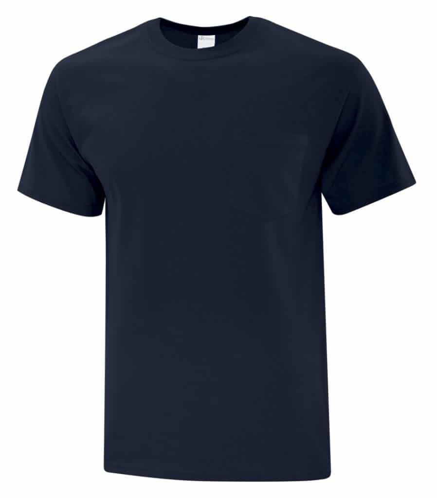 WTSMBATC1000P - Dark Navy - WorkwearToronto.com - Men's T-Shirt