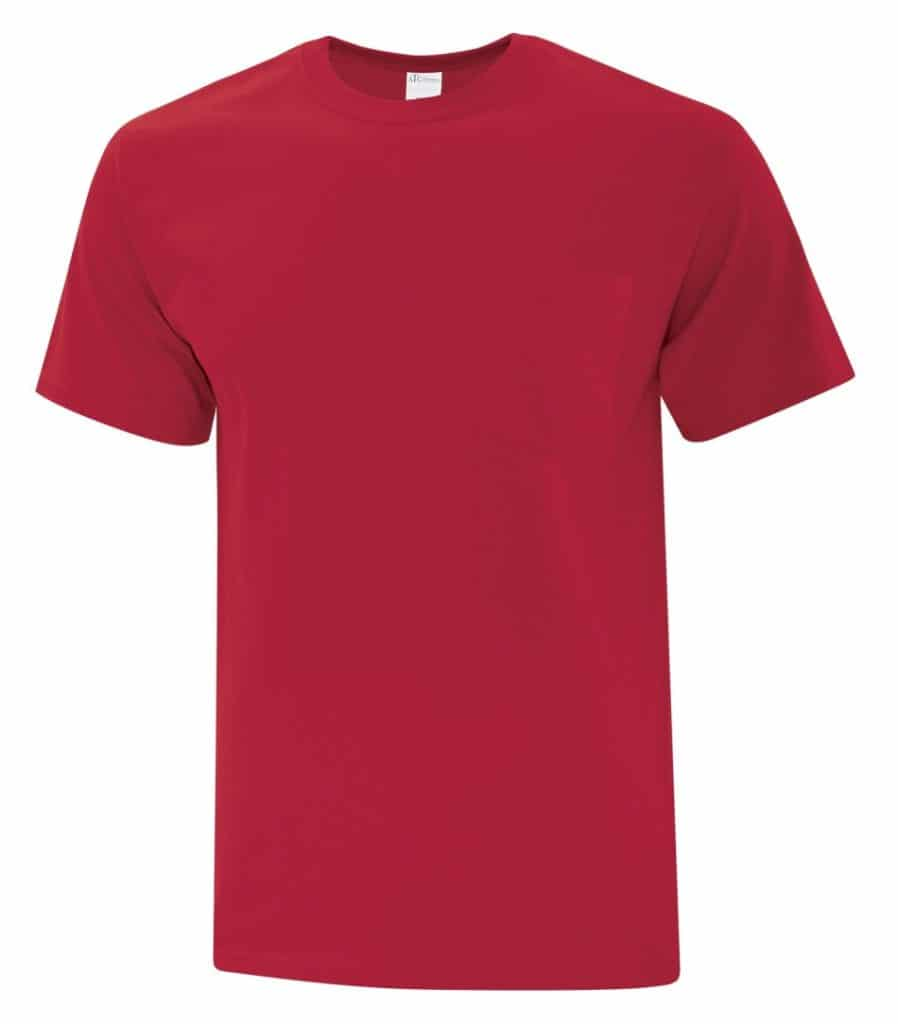 WTSMBATC1000P - Red - WorkwearToronto.com - Men's T-Shirt