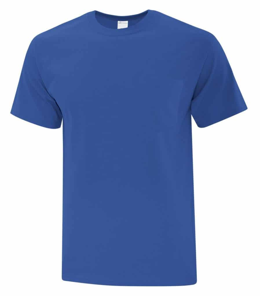 WTSMBATC1000P - Royal - WorkwearToronto.com - Men's T-Shirt
