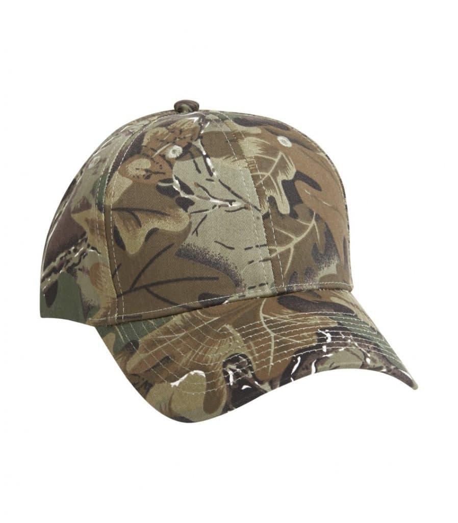 WTSMC130 - Camo Leaf - WorkwearToronto.com - Baseball Hat - Headwear - Custom Embroidery Decoration