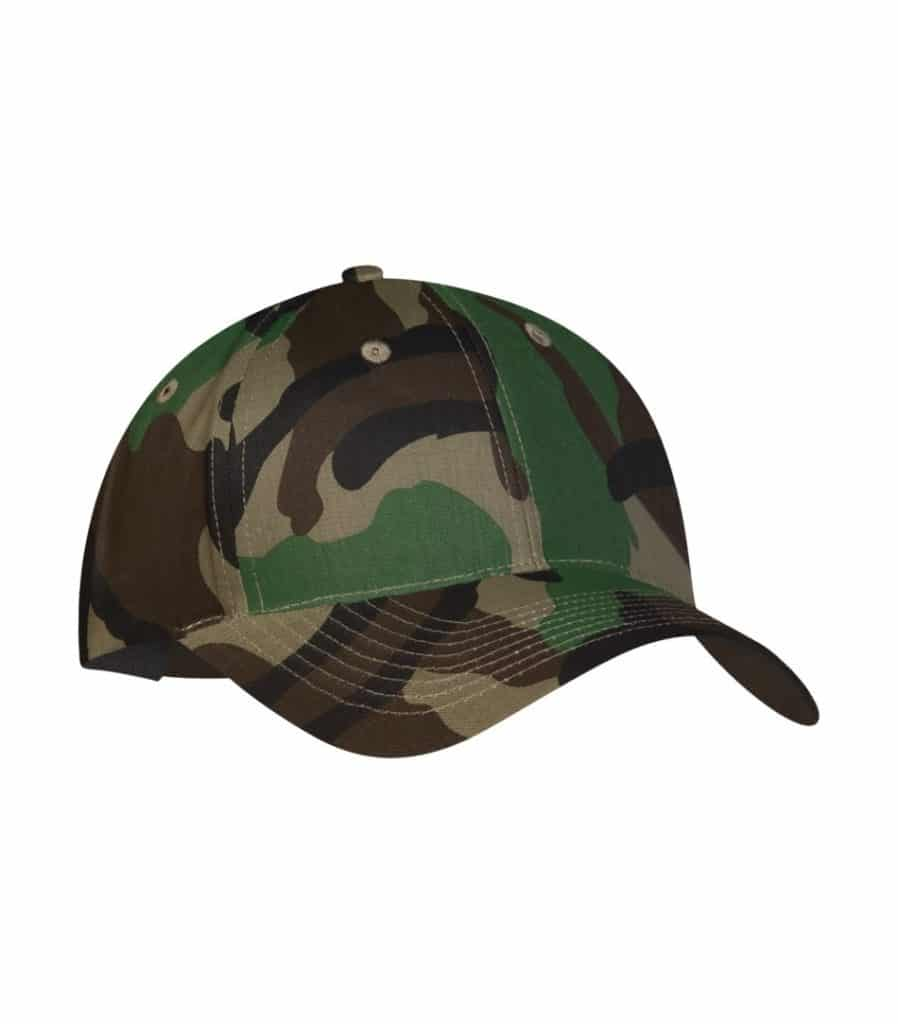 WTSMC130 - Camo - WorkwearToronto.com - Baseball Hat - Headwear - Custom Embroidery Decoration