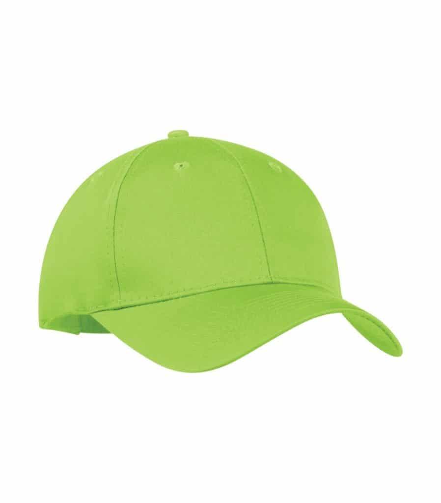 WTSMC130 - Lime Shock - WorkwearToronto.com - Baseball Hat - Headwear - Custom Embroidery Decoration