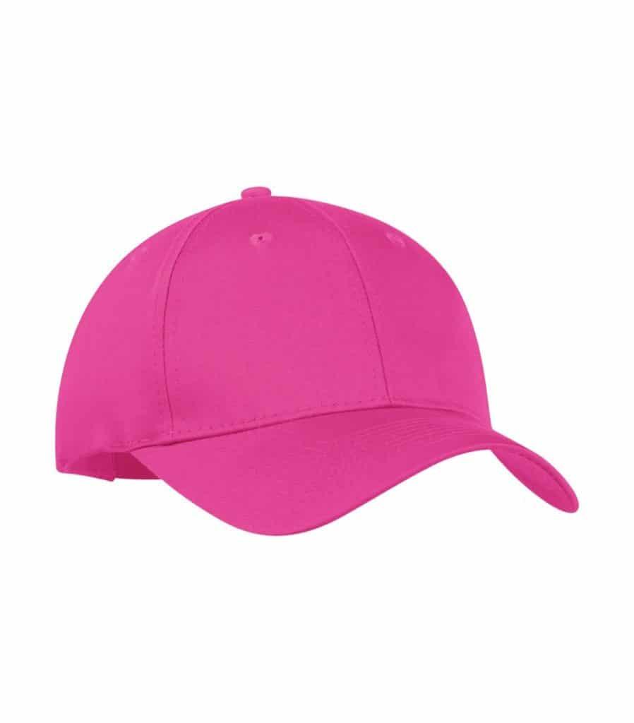 WTSMC130 - Tropical Pink - WorkwearToronto.com - Baseball Hat - Headwear - Custom Embroidery Decoration