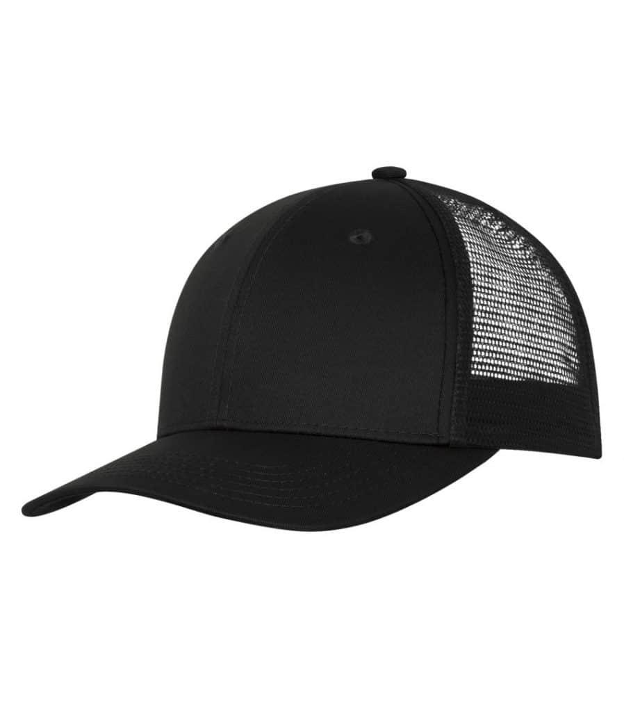 WTSMC1318 - Black - Black - WorkwearToronto.com - Headwear - Baseball Hats - Custom Decoration Embroidery