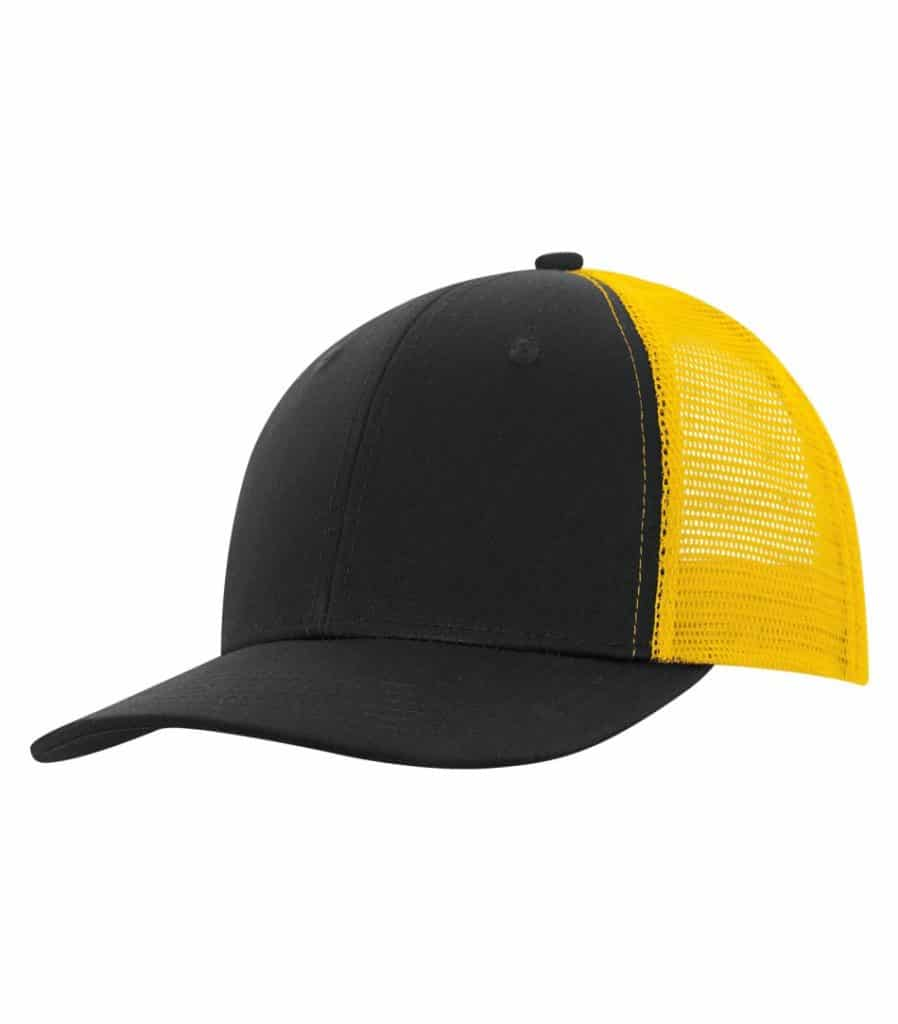 WTSMC1318 - Coal - Gold - WorkwearToronto.com - Headwear - Baseball Hats - Custom Decoration Embroidery