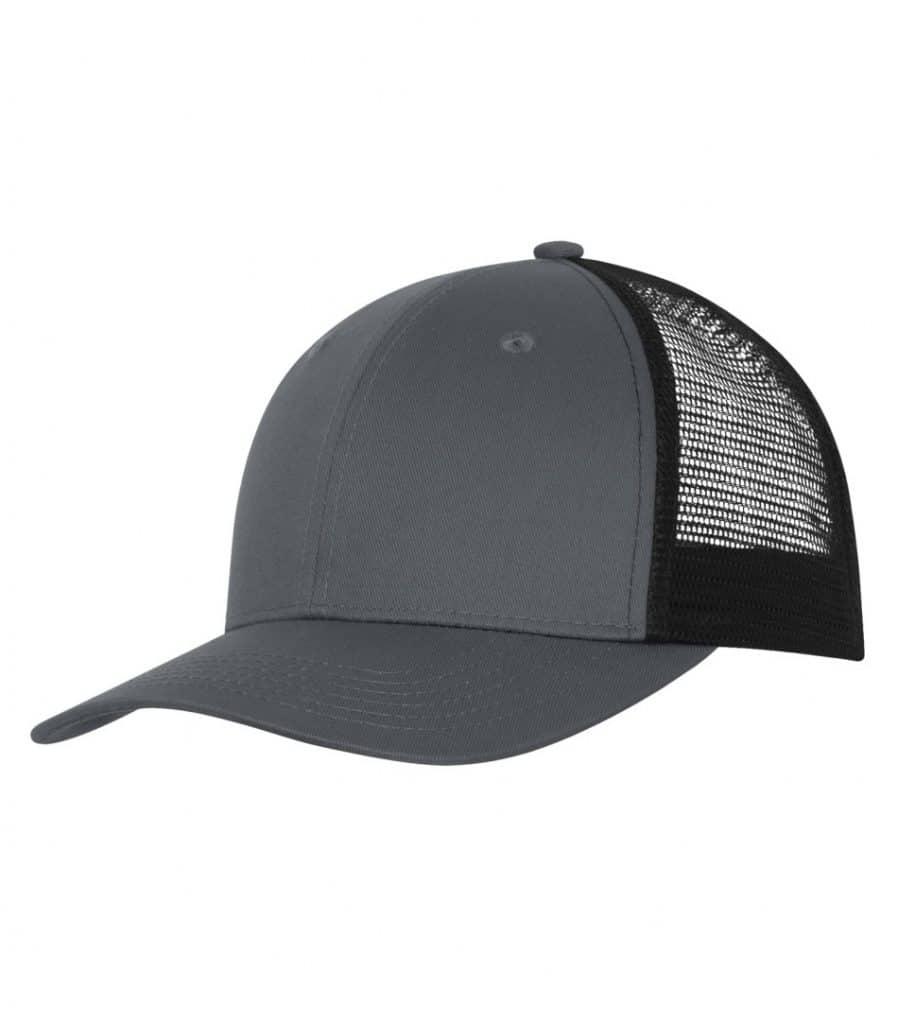 WTSMC1318 - Coal Grey - Black - WorkwearToronto.com - Headwear - Baseball Hats - Custom Decoration Embroidery