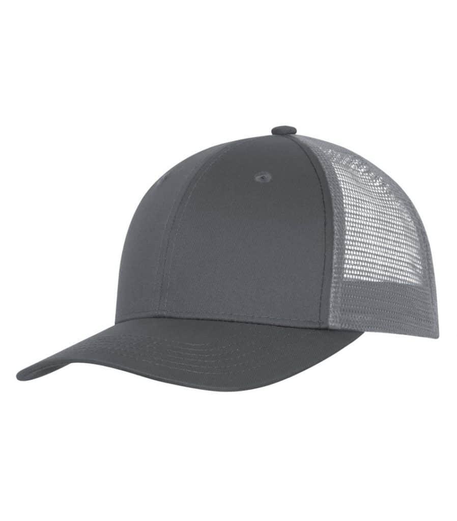 WTSMC1318 - Coal Grey - Grey - WorkwearToronto.com - Headwear - Baseball Hats - Custom Decoration Embroidery