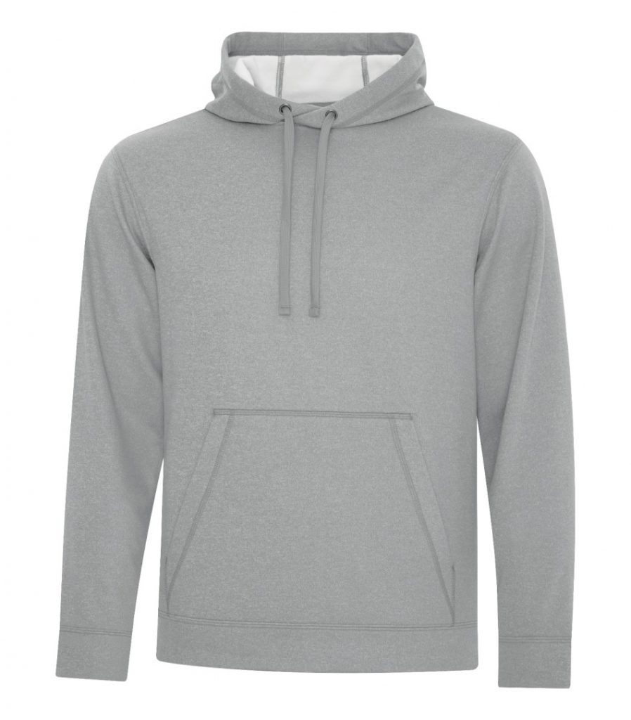 WTSMF2005 - Athletic Grey - WorkwearToronto.com - Men's Hoodies & Sweatshirts - Custom Logo