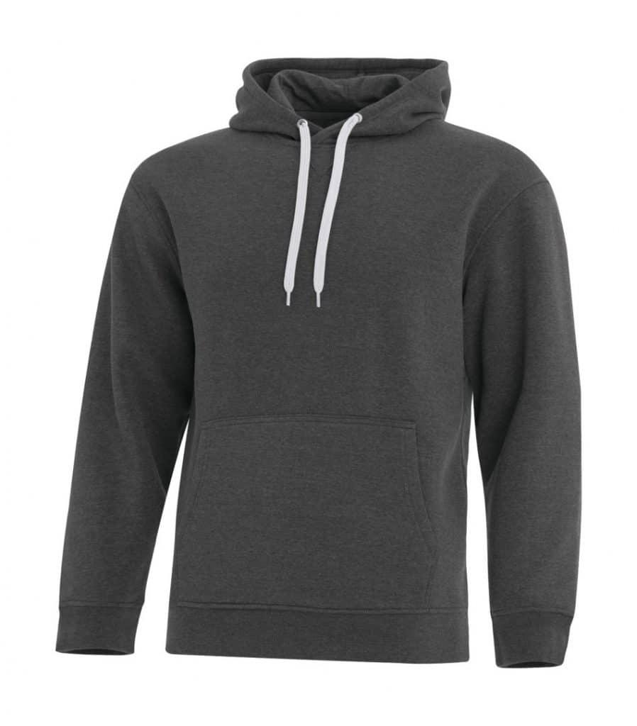 WTSMF2016 - Charcoal Heather - WorkwearToronto.com - Men's Hoodies & Sweatshirts