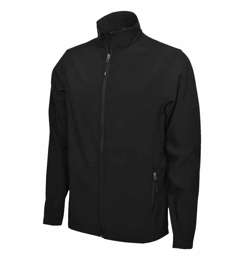 Coal Harbour Soft Shell Jacket - Workwear Toronto - Custom logo Clothes - Promotional items - Heat Transfer - Screen Printing - Embroidery - Custom Work Clothes in Mississauga - Black