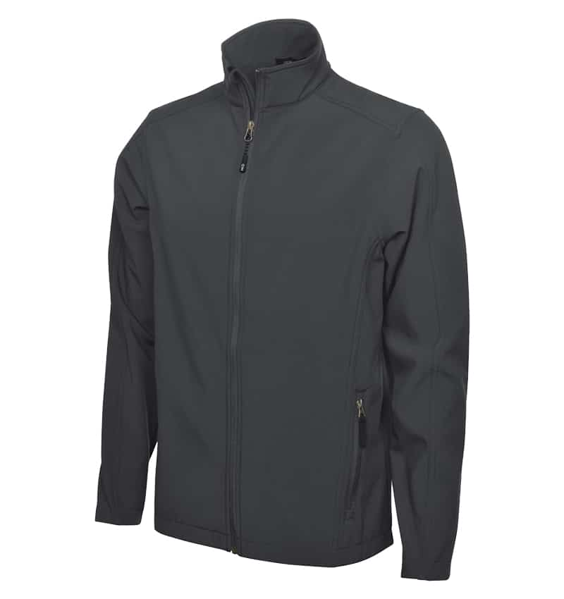 Coal Harbour Soft Shell Jacket - Workwear Toronto - Custom logo Clothes - Promotional Products - Heat Transfer - Screen Printing - Embroidery - Corporate Apparel in GTA - Graphite