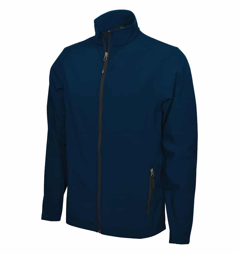 Coal Harbour Soft Shell Jacket - Workwear Toronto - Custom logo Clothing - Promotional Products - Heat Transfer - Screen Printing - Embroidery - Corporate Apparel in GTA - Midnight Blue