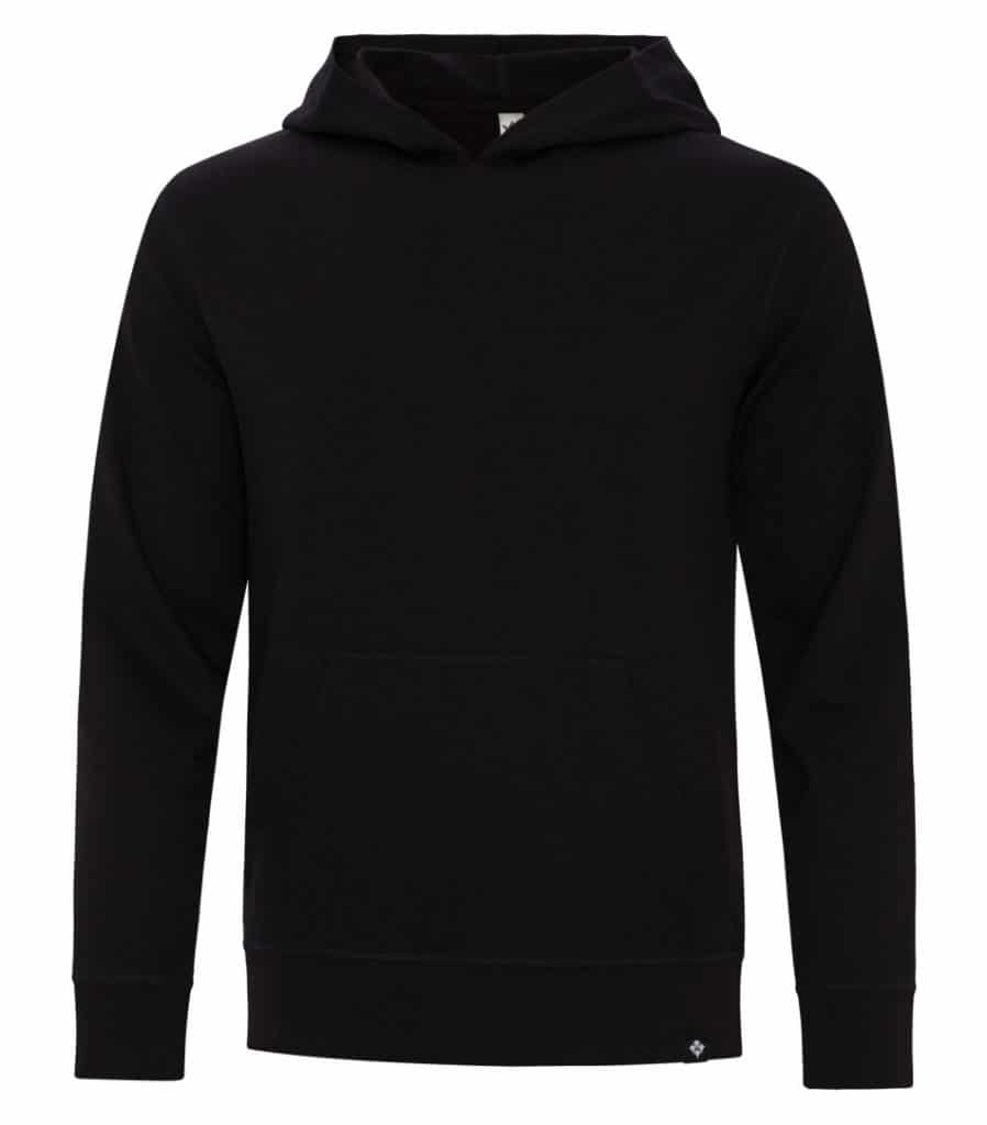 WTSMKOI2050 - Onyx - WorkwearToronto.com - Men's pullover Hoodie - Custom Logo - Custom Clothing Embroidery and Heat Press