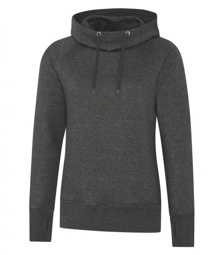 WTSML2045W - Charcoal Heather - WorkwearToronto.com - Ladies' Hoodies & Sweatshirts