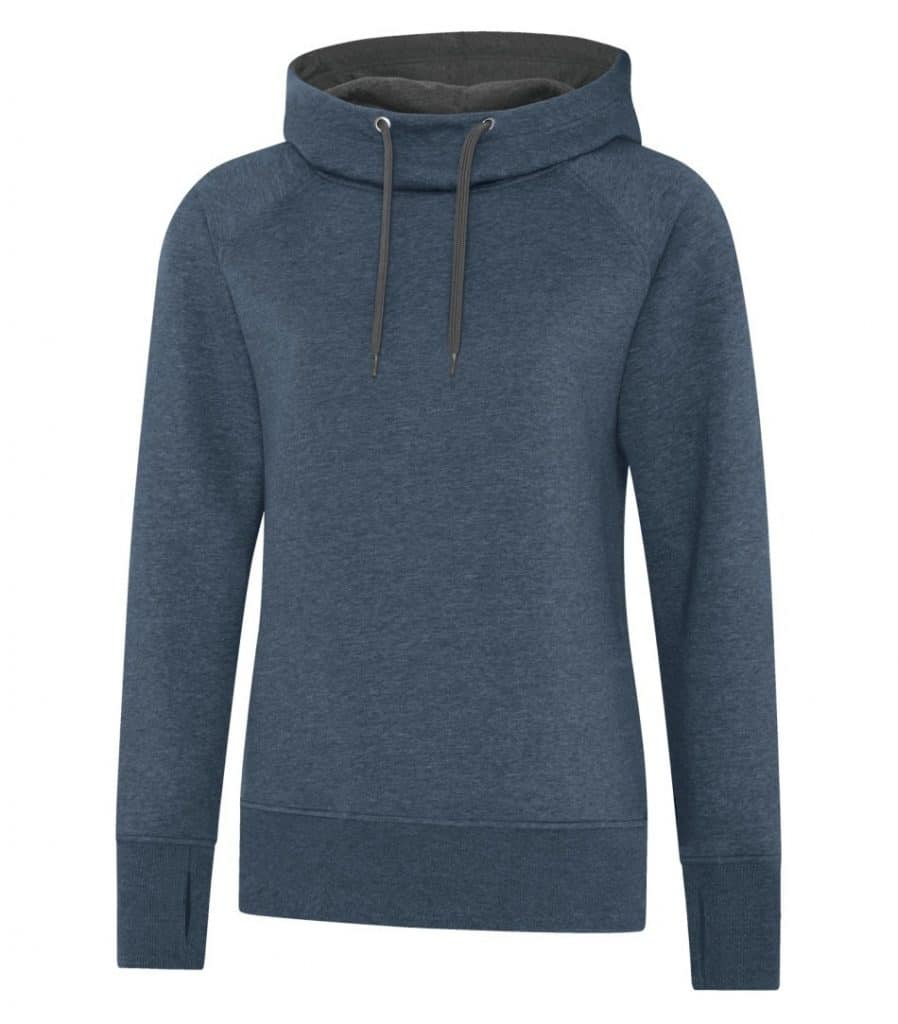 WTSML2045W - Navy Heather Heather - WorkwearToronto.com - Ladies' Hoodies & Sweatshirts