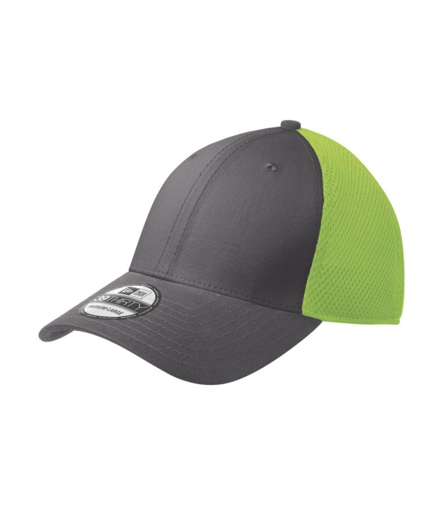 WTSMNE1020 - Graphite - Cyber Green - WorkwearToronto.com - Headwear, Toques & Beanies - Custom Embroidery