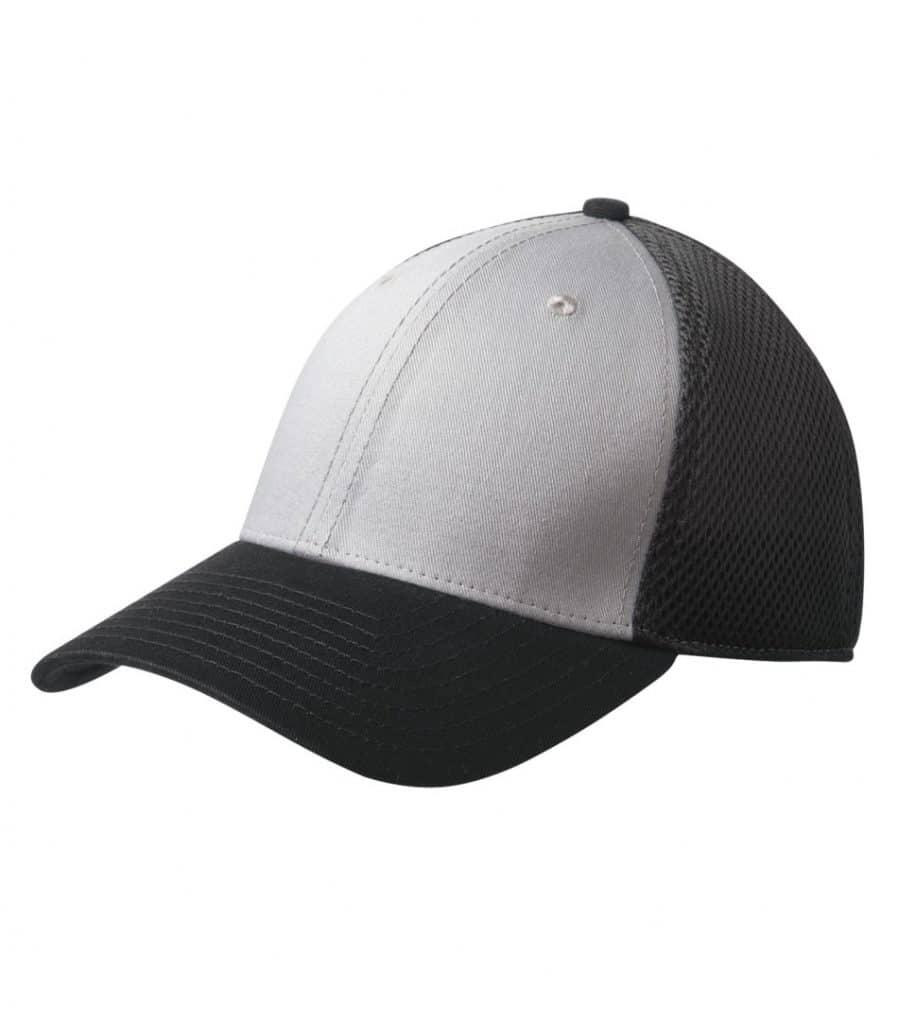 WTSMNE1020 - Grey - Black - WorkwearToronto.com - Headwear, Toques & Beanies - Custom Embroidery