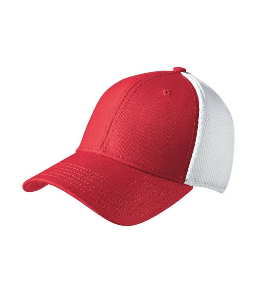 WTSMNE1020 - Scarlet - White - WorkwearToronto.com - Headwear, Toques & Beanies - Custom Embroidery