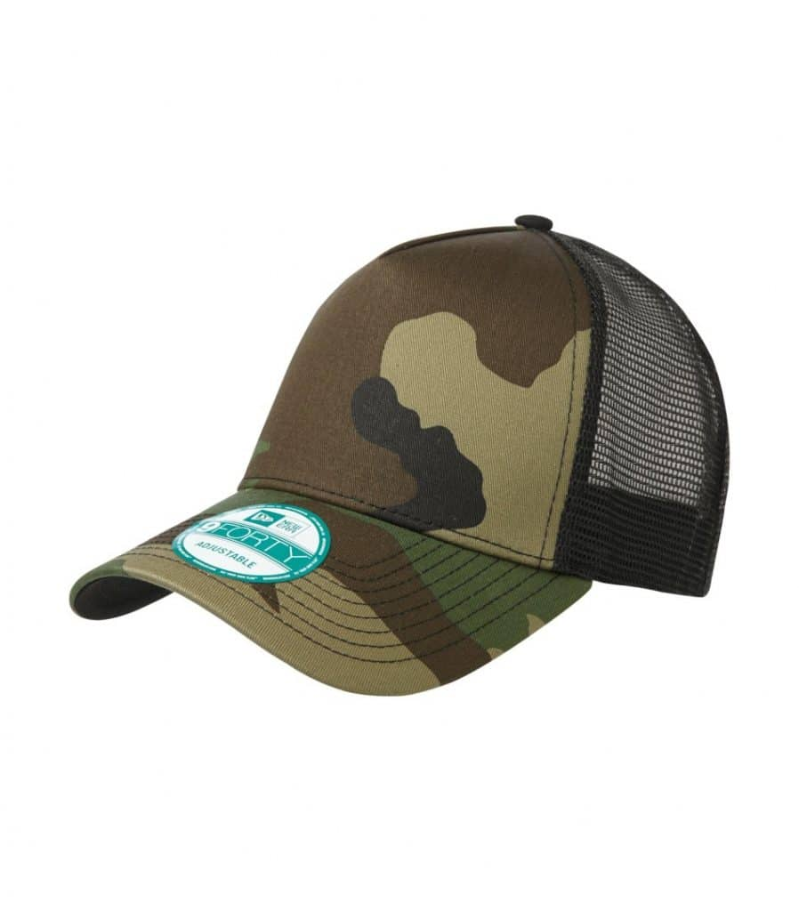 WTSMNE205 - Camo - Black - WorkwearToronto.com - Headwear Caps - Hats - Custom Embroidery