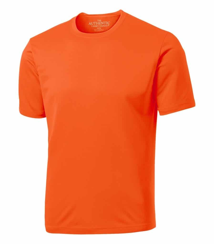 WTSMS350 - Extreme Orange - WorkwearToronto.com - T-shirts with Your Custom Logo
