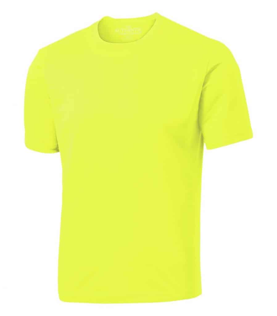 WTSMS350 - Extreme Yellow - WorkwearToronto.com - T-shirts with Your Custom Logo