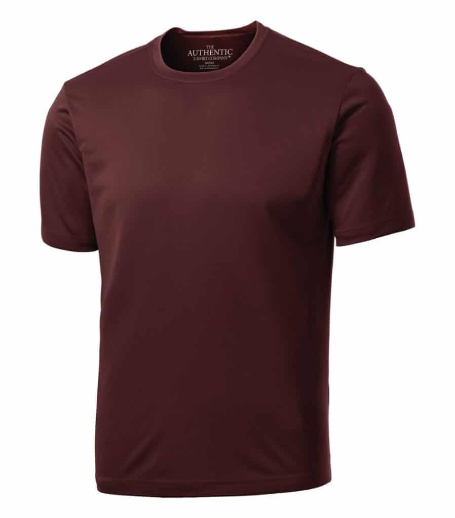 WTSMS350 - Maroon - WorkwearToronto.com - T-shirts with Your Custom Logo