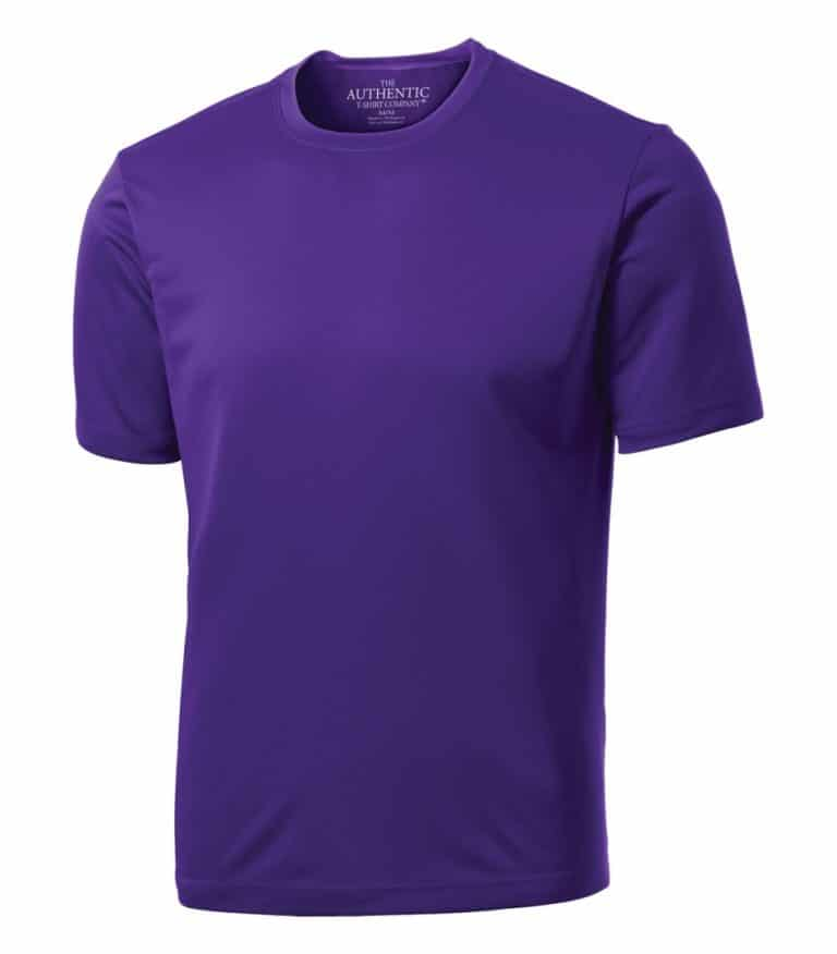 WTSMS350 - Purple - WorkwearToronto.com - Short Sleeve T-shirts with Your Custom Logo - Custom T Shirts with your branding