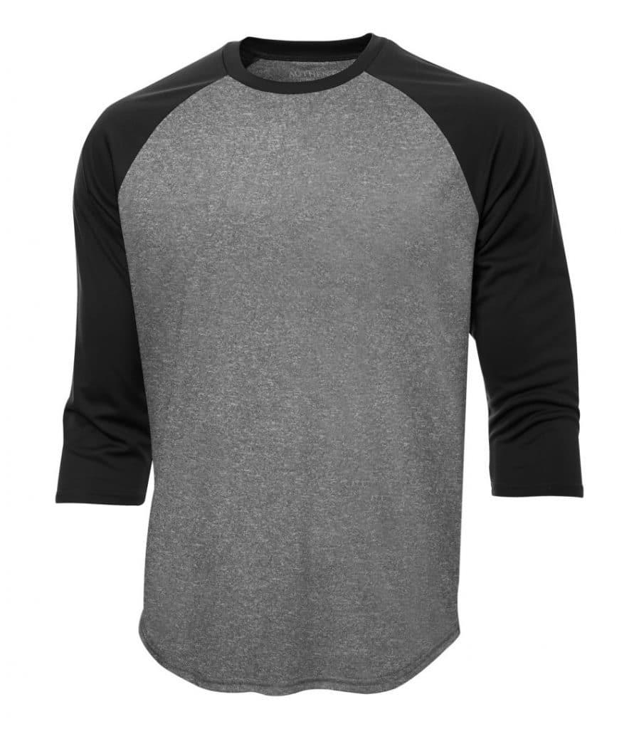 WTSMS3526 - Charcoal Heather & Black - WorkwearToronto.com - T-Shirts - Embroidery