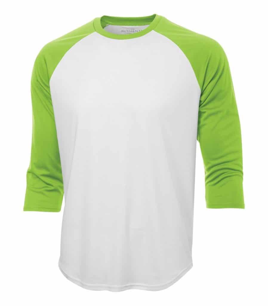WTSMS3526 - White & Lime Shock - WorkwearToronto.com - T-Shirts - Custom t Shirts Cost