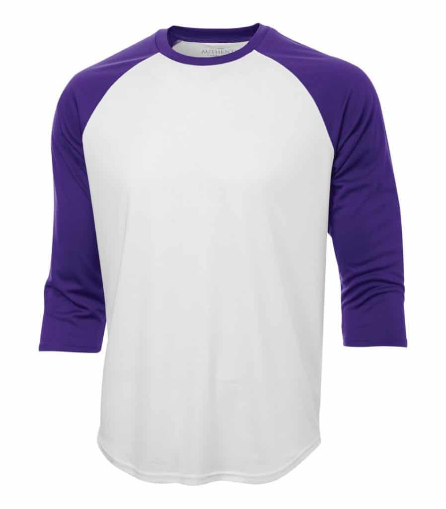 WTSMS3526 - White & Purple - WorkwearToronto.com - T-Shirts - Custom Printed t Shirts Cost