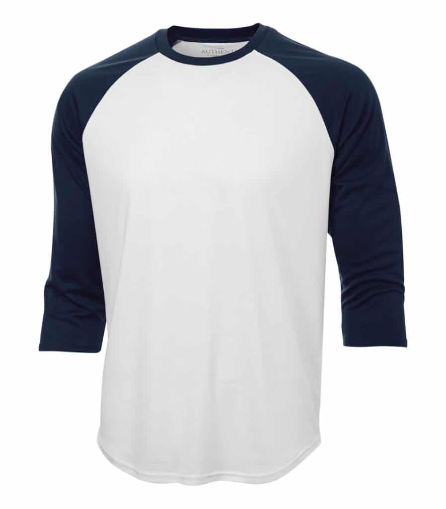 WTSMS3526 - White & True Navy - WorkwearToronto.com - T-Shirts - Embroidery
