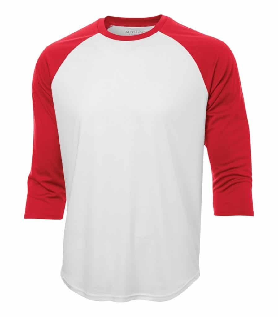 WTSMS3526 - White & True Red - WorkwearToronto.com - T-Shirts - Custom T Shirts in Toronto