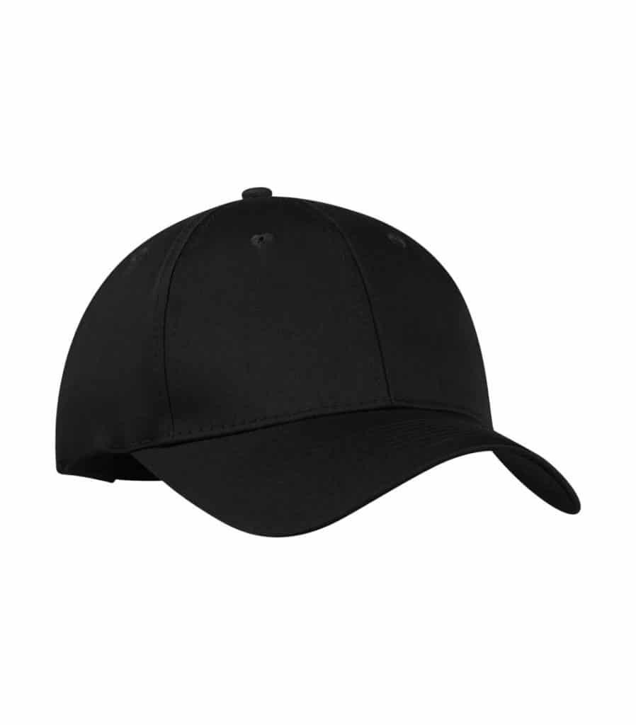WTSMY130 - Black - WorkwearToronto.com - Baseball Hats with Custom Embroidery - Heat Press - Cost