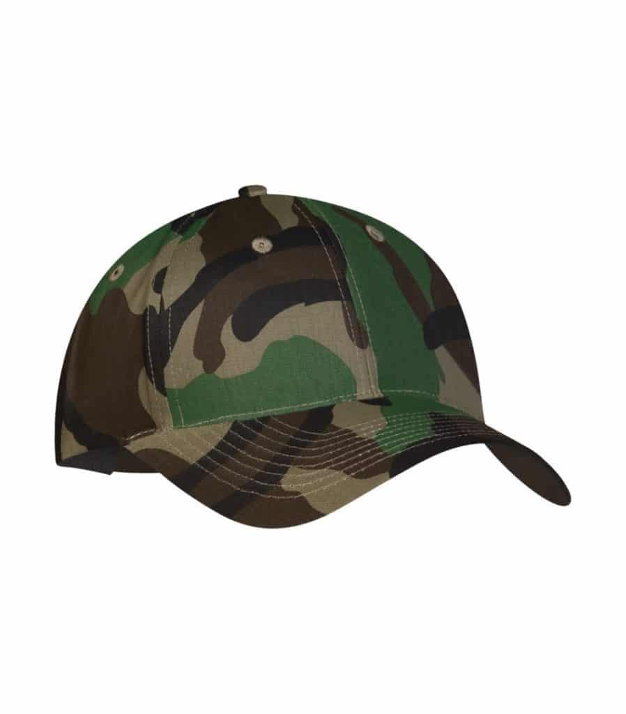 WTSMY130 - Camo - WorkwearToronto.com - Baseball Hats with Custom Embroidery - Youth Twill Cap - Heat Press - Cost