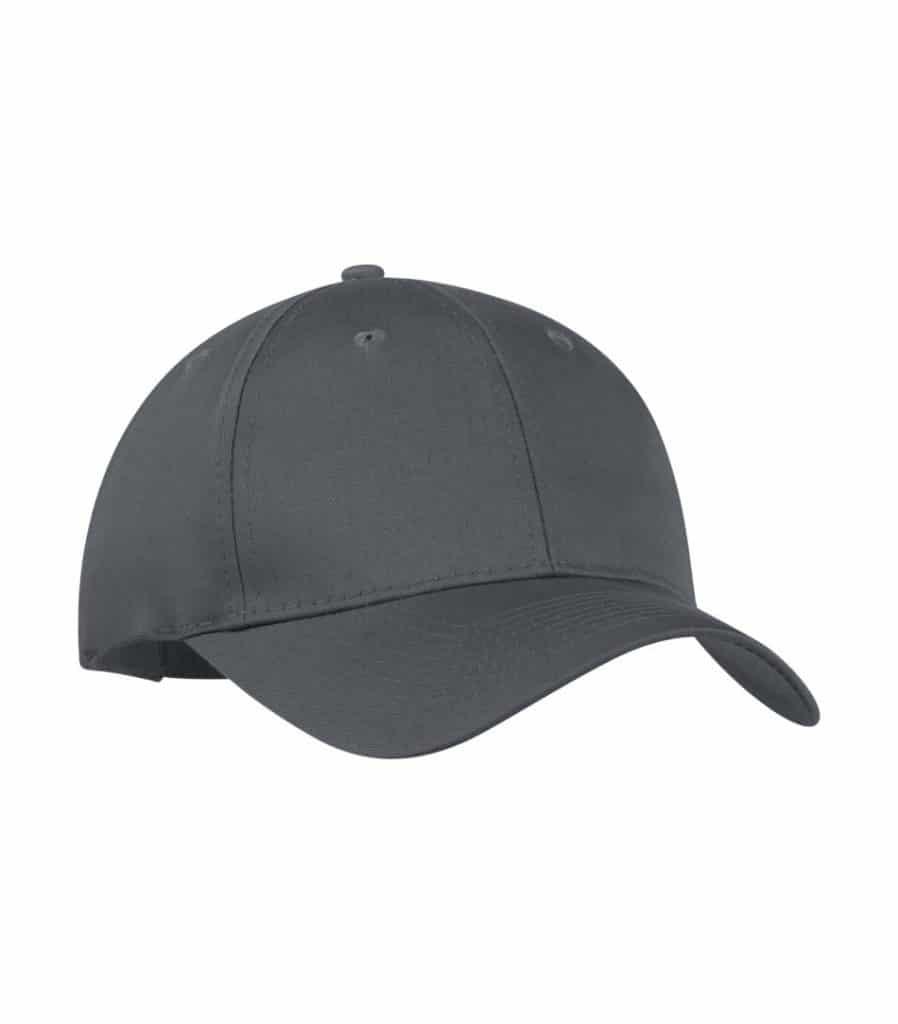 WTSMY130 - Coal Grey - WorkwearToronto.com - Baseball Hats with Custom Embroidery - Heat Press - Cost
