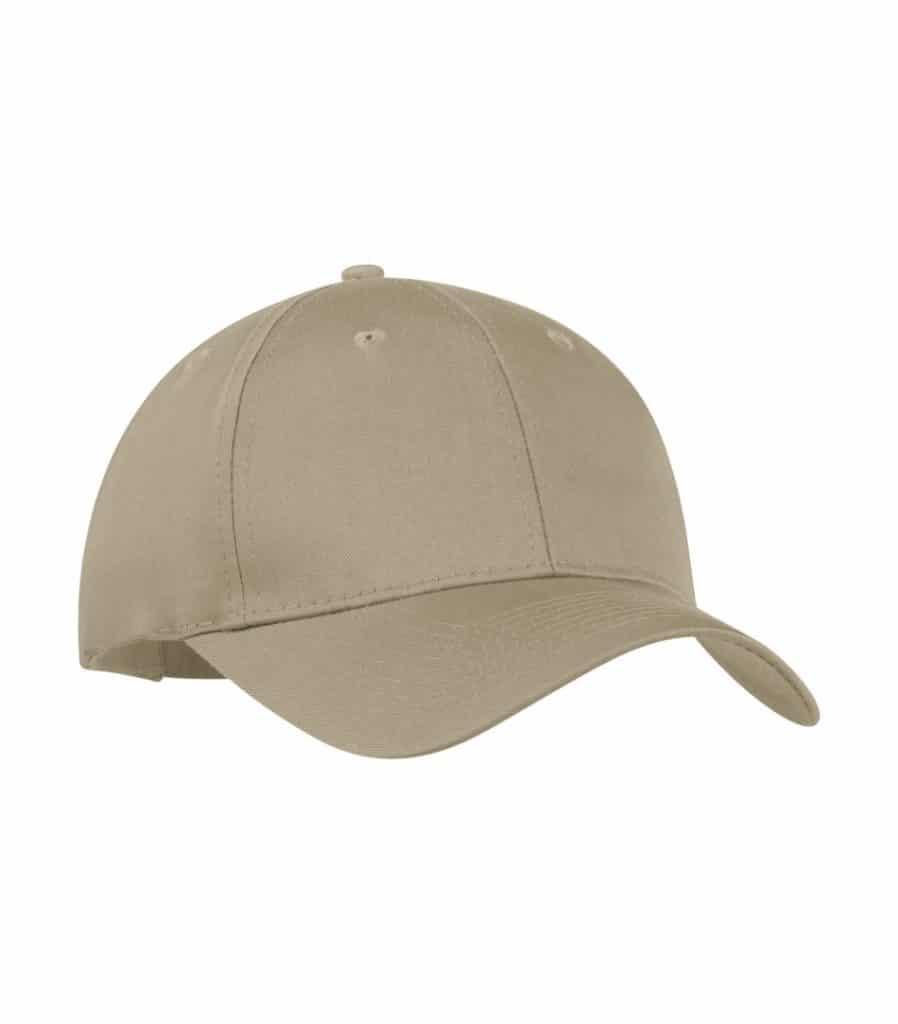 WTSMY130 - Khaki - WorkwearToronto.com - Baseball Hats with Custom Embroidery - Heat Press - Cost
