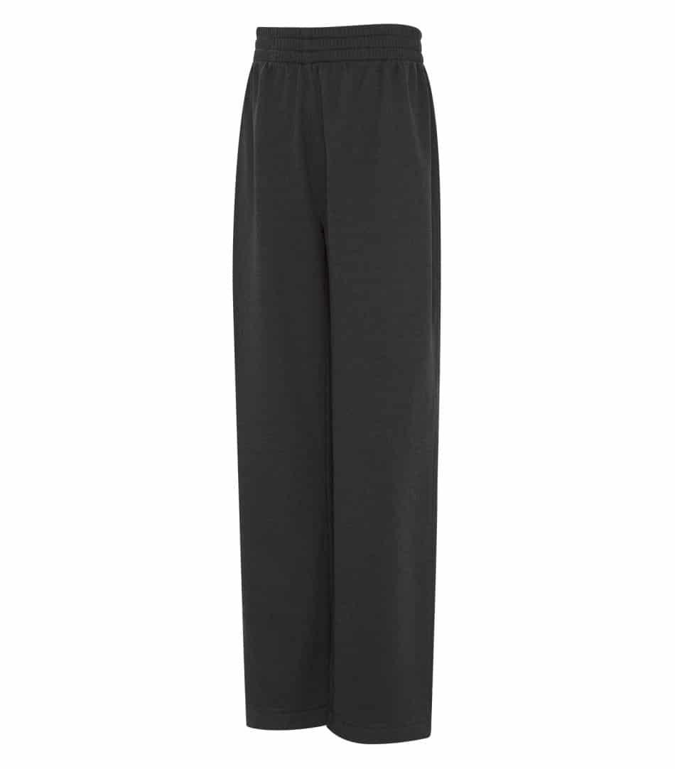 WTSMY2057Y - Charcoal Heather - WorkwearToronto.com - Youth Fleece Pants With Custom Logo - Custom clothing products