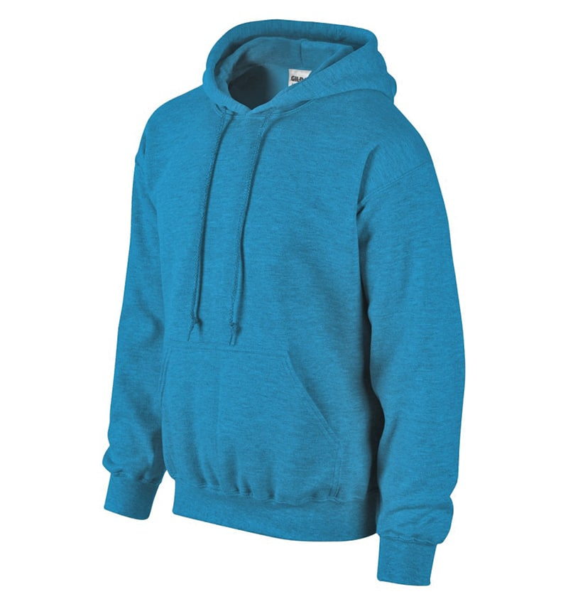 Custom Sweatshirt Hoodie with Your Logo - WTSN1850 Antique Sapphire - Promotional Products - Heat Transfer - Screen Printing - Embroidery