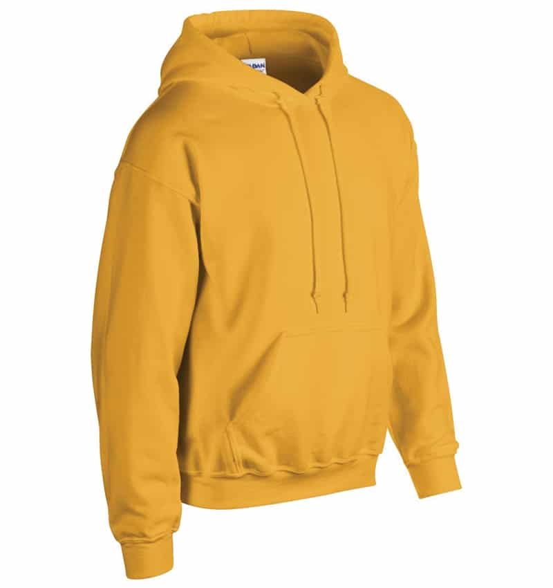 Custom Sweatshirt Hoodie with Your Logo - WTSN1850 Gold - Promotional Products - Heat Transfer - Screen Printing - Embroidery