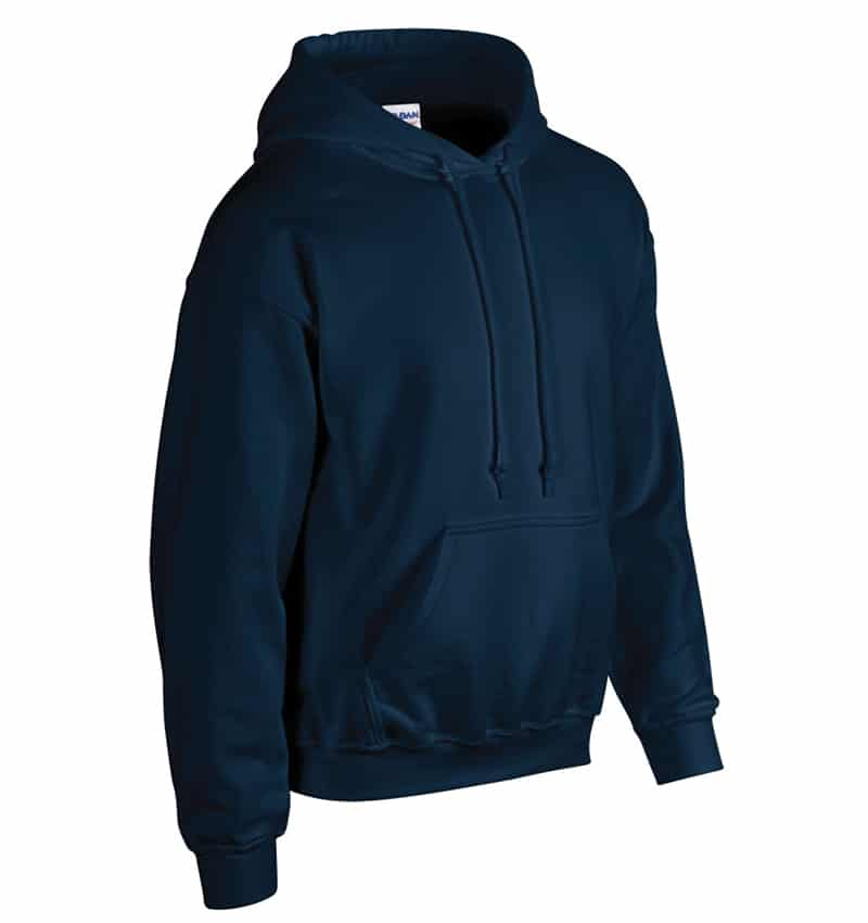 Custom Sweatshirt Hoodie with Your Logo - WTSN1850 Navy - Promotional Products - Heat Transfer - Screen Printing - Embroidery