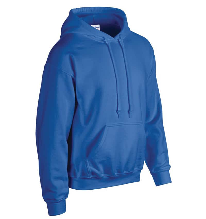 Custom Sweatshirt Hoodie with Your Logo - WTSN1850 Royal - Promotional Products - Heat Transfer - Screen Printing - Embroidery