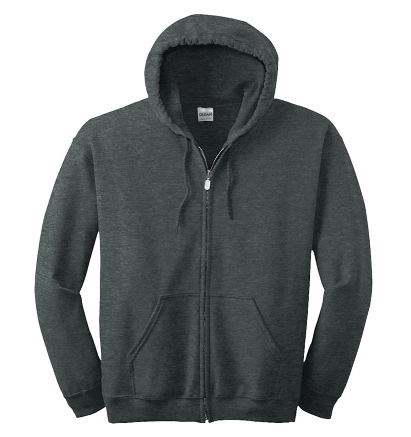Custom Sweatshirt hoodies with your logo - Promotional Products - Workwear Toronto - Heat Transfer - Screen Printing - Embroidery - WTSN1860 Dark Heather