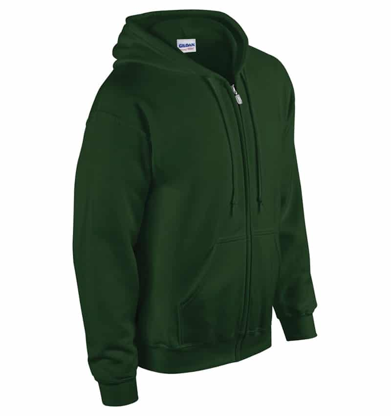 Custom Sweatshirt hoodies with your logo - Promotional Products - Workwear Toronto - Heat Transfer - Screen Printing - Embroidery - WTSN1860 Forest Green