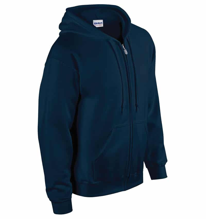Custom Sweatshirt hoodies with your logo - Promotional Products - Workwear Toronto - Heat Transfer - Screen Printing - Embroidery - WTSN1860 Navy