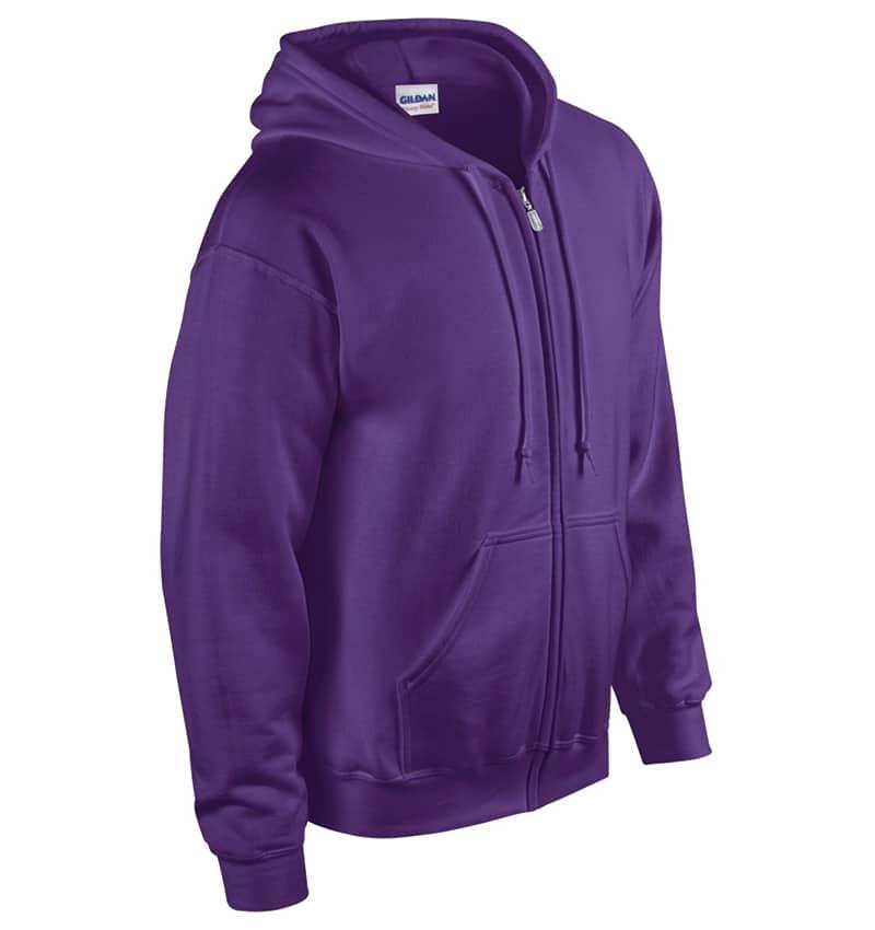 Custom Sweatshirt hoodies with your logo - Promotional Products - Workwear Toronto - Heat Transfer - Screen Printing - Embroidery - WTSN1860 Purple