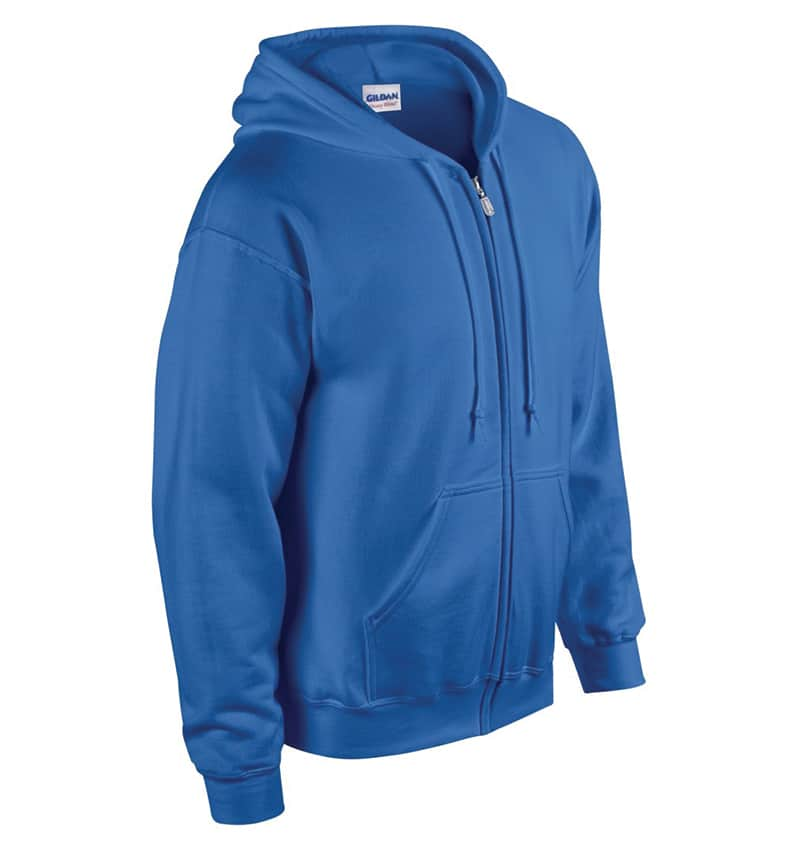 Custom Sweatshirt hoodies with your logo - Promotional Products - Workwear Toronto - Heat Transfer - Screen Printing - Embroidery - WTSN1860 Royal