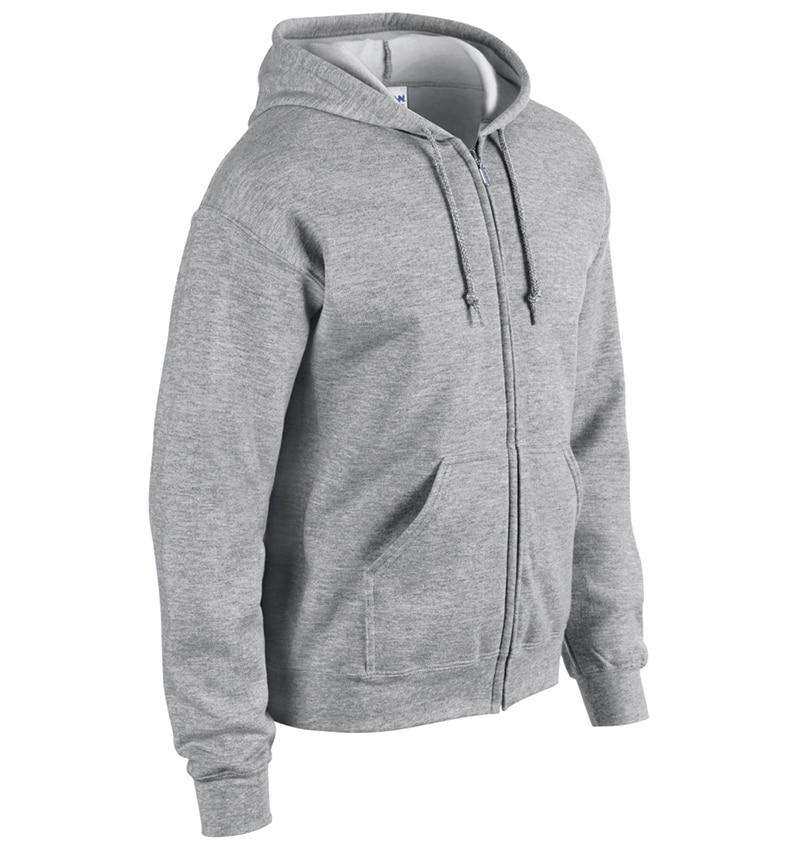 Custom Sweatshirt hoodies with your logo - Promotional Products - Workwear Toronto - Heat Transfer - Screen Printing - Embroidery - WTSN1860 Sport Grey